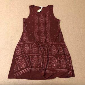 NWT MAURICE'S DRESS - MEDIUM